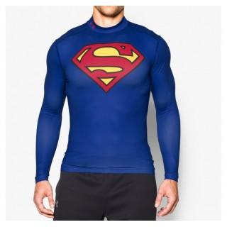 Baselayer Rugby de compression Superman Under Armour Vendre