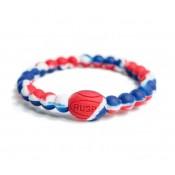 Officielle Bracelet Rugby - Active Rugby Life Bracelet bleu-blanc-rouge - Elegant Violence Rugby