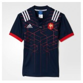 Maillot Rugby Adulte - France domicile 2016/2017 Adidas Vendre