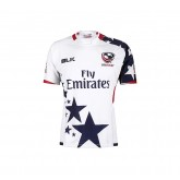Maillot Rugby Adulte - USA 7 s réplica domicile 2016/2017 Noir France Magasin