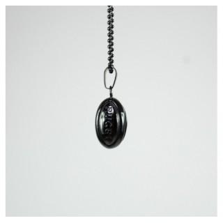 Pendentif Rugby - Chaine noire - Elegant Violence Rugby Paris Boutique