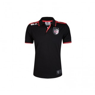 Solde Polo Rugby Adulte Stade Toulousain Noir