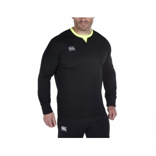 Magasin Sweat Rugby Adulte - Thermoreg Tech Crew Top Canterbury Paris