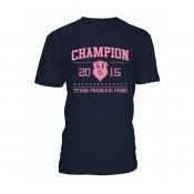 Tee-shirt Adulte  Stade Français Champion de France 2015 Holiprom Rabais en ligne