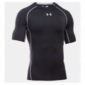 Tee-shirt Rugby de compression - UA HeatGear noir Under Armour Vente En Ligne