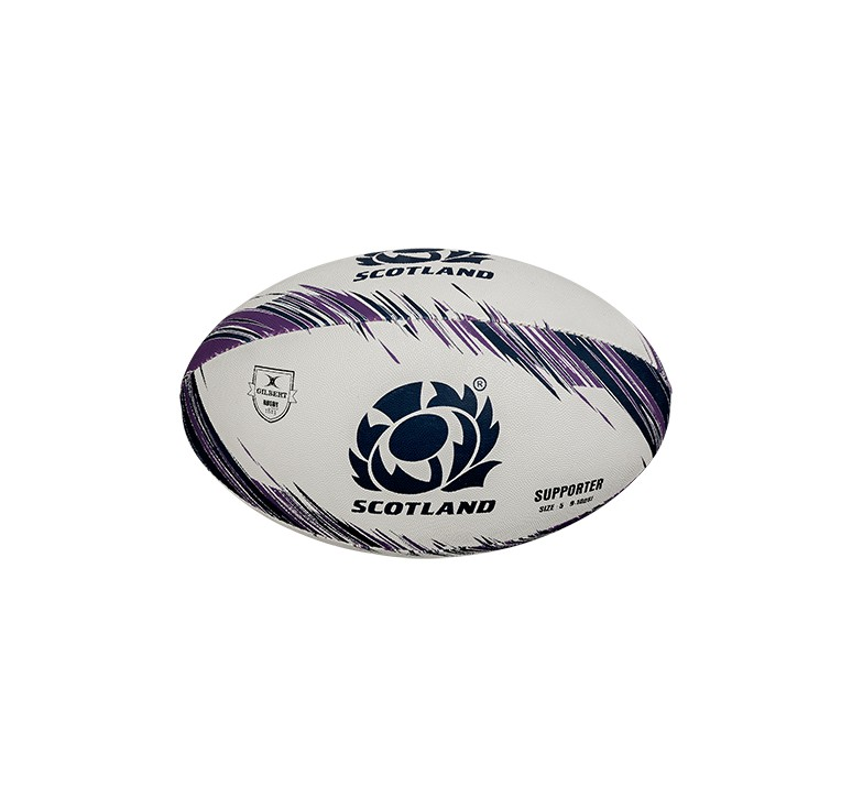 Ballon Rugby - Supporter Ecosse T5 Gilbert