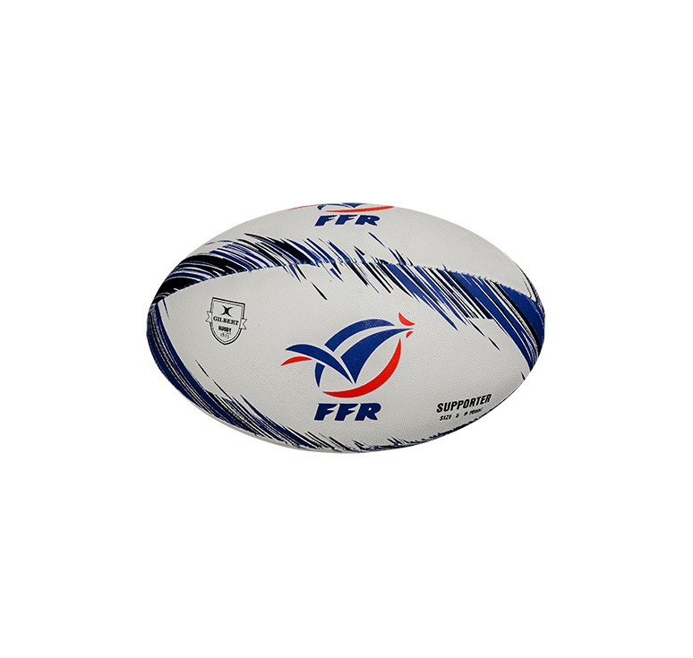 Ballon Rugby - Supporter France T5 Gilbert