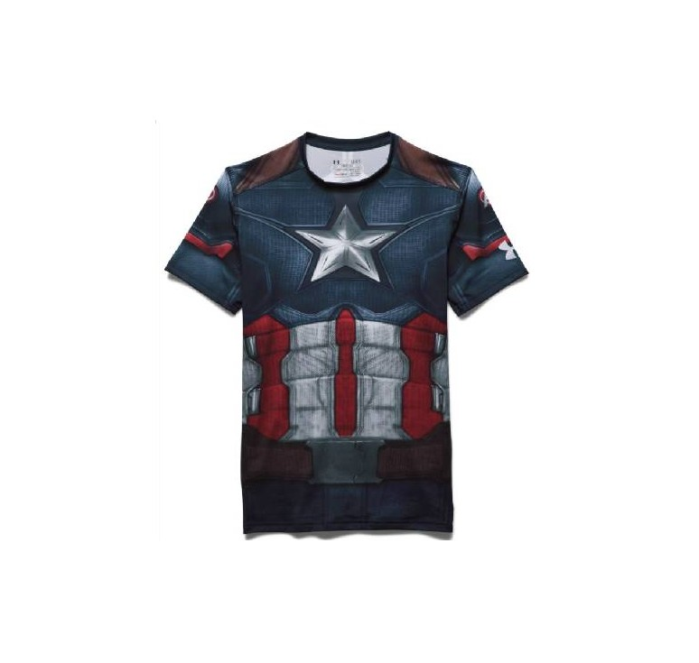 Baselayer de compression Adulte - Captain America Under Armour