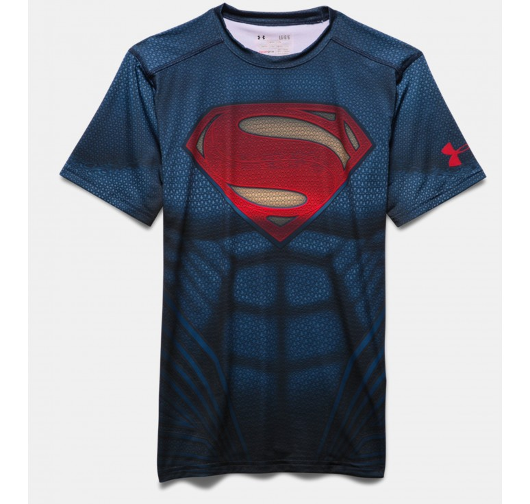 Baselayer Rugby Enfant Superman Under Armour