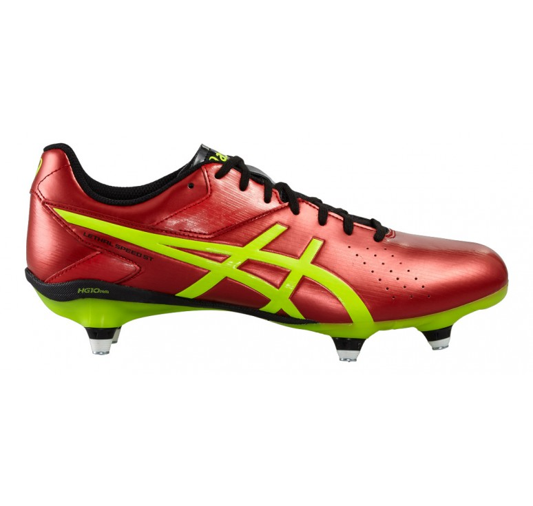 Crampons Rugby vissés Adulte - Lethal Speed ST Asics Chaussures