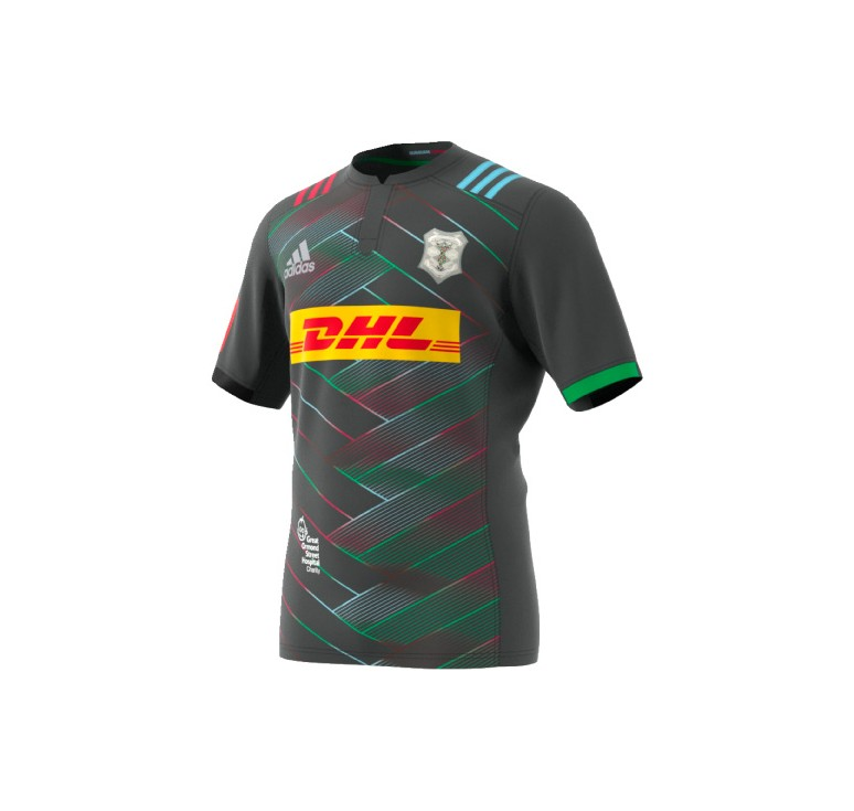 Maillot Rugby Adulte - Harlequins BG 2016/2017 Adidas