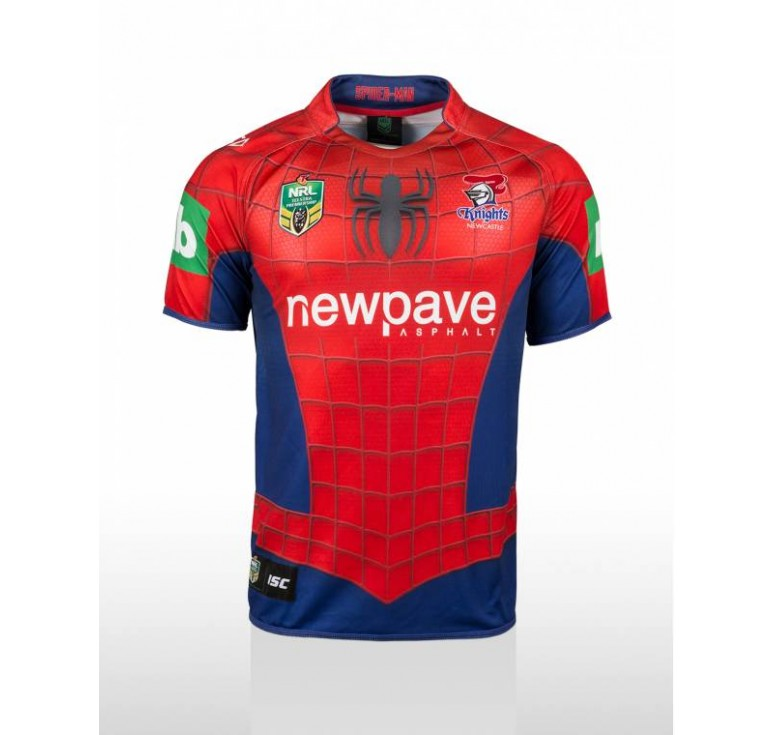 Maillot Rugby Adulte - Spiderman 2015 - ISC