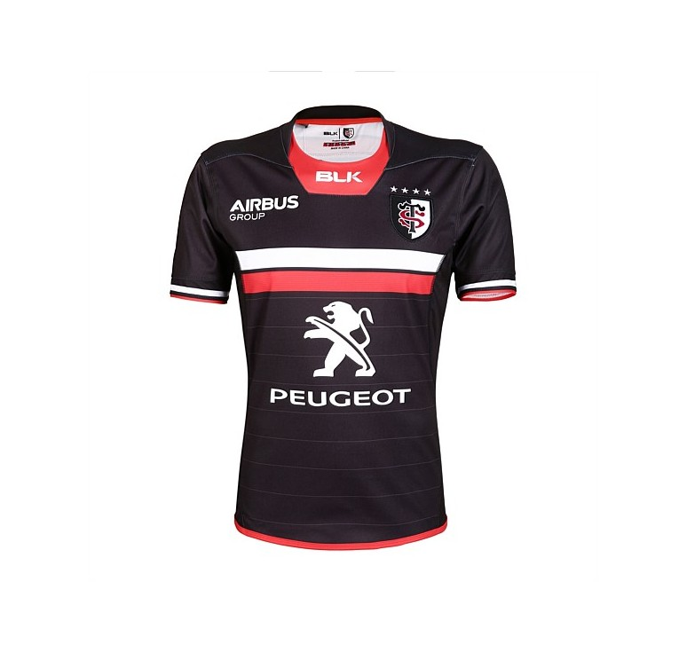 Maillot Rugby Adulte Stade Toulousain domicile 2016/2017 Noir