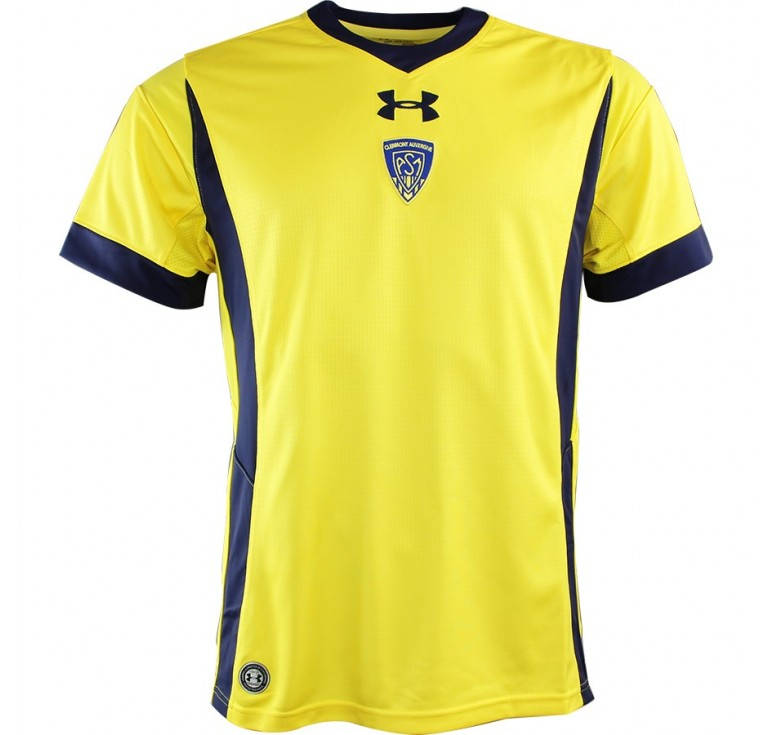 Maillot Rugby Enfant - ASM Clermont Auvergne réplica domicile 2016-2017 Under Armour