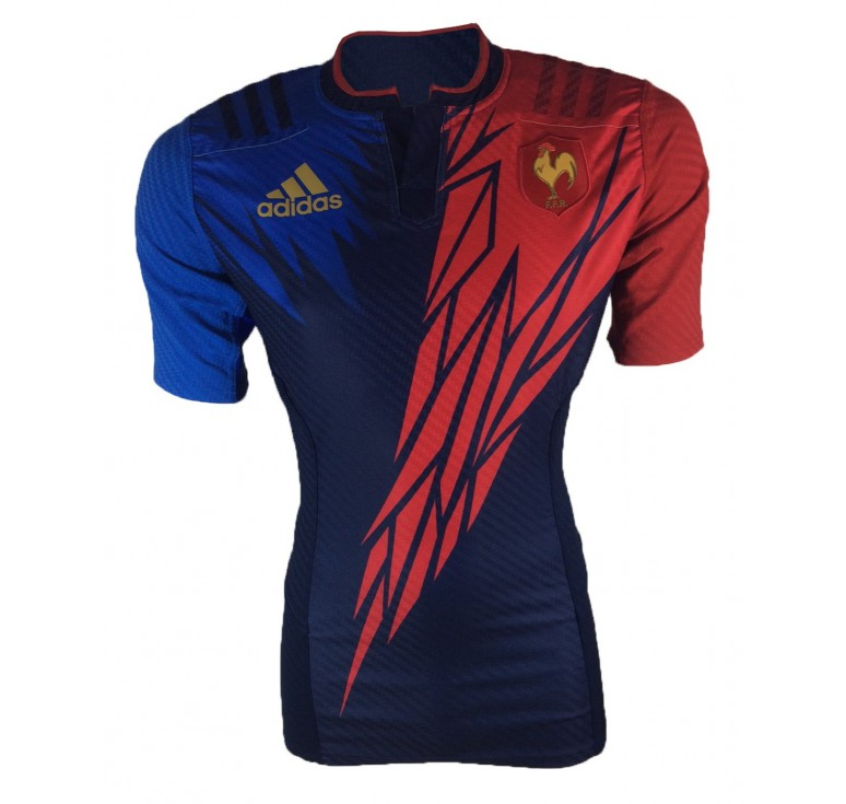 Maillot Rugby - France Rugby à 7 Adidas