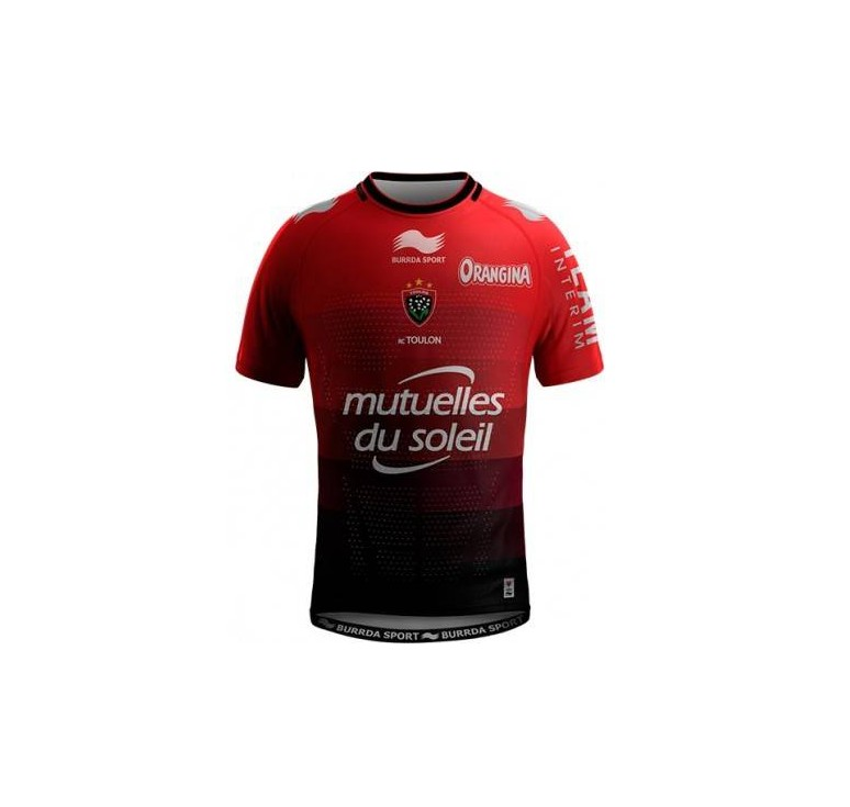 Maillot Rugby - Rugby Club Toulonnais Domicile 2015/2016 - Burrda