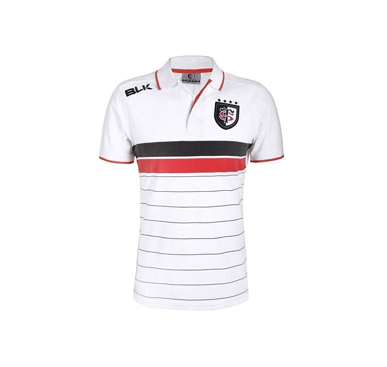 Polo Rugby Adulte Stade Toulousain Noir