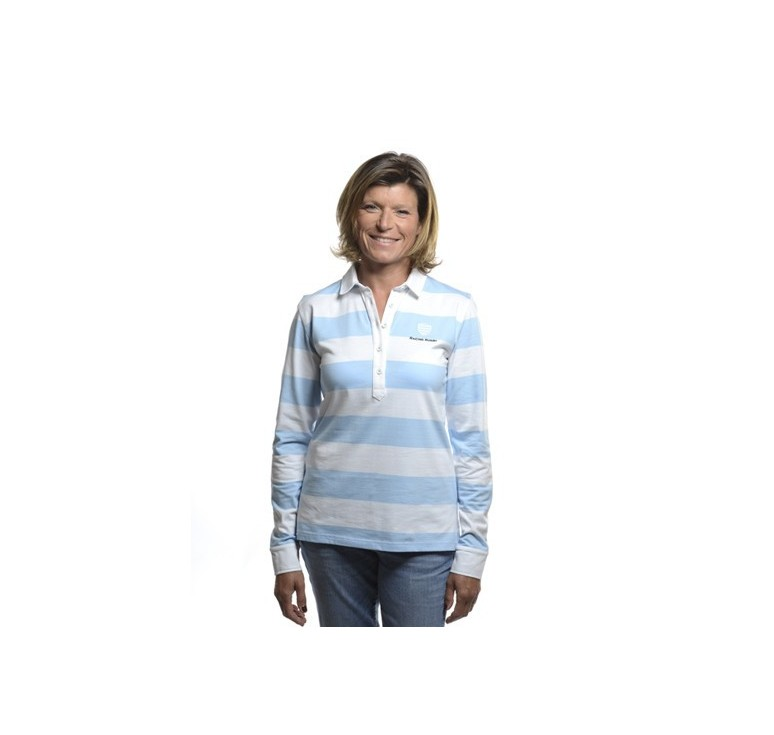 Polo Rugby Femme - Racing 92 - Racing 1882