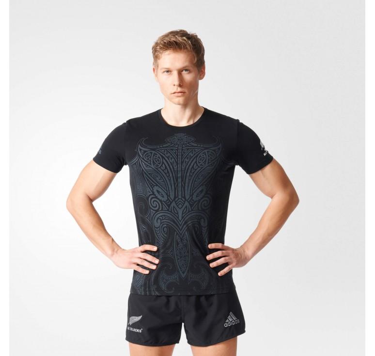 Magasin Tee shirt Rugby Enfant Maori All Blacks Adidas Paris