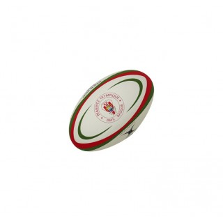 Ballon Rugby - Biarritz T5 Gilbert en Promo