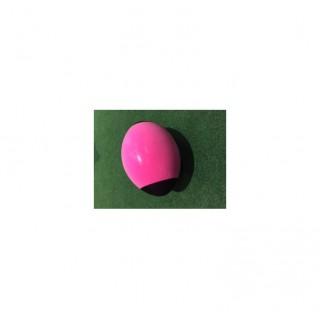 Ballon - Rugby - Mousse - Rose/Noir Pas Cher Prix