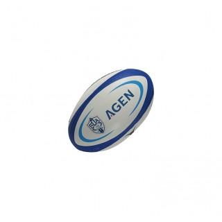 Ballon Rugby - Réplica Agen T5 Gilbert Soldes Paris