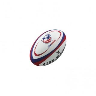 Ballon Rugby - Réplica USA T5 Gilbert Personnalisé