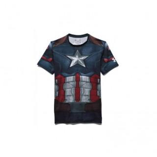 Baselayer de compression Adulte - Captain America Under Armour Lyon