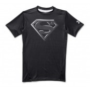 Soldes Baselayer de compression - Superman black Under Armour