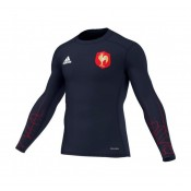 Nouvelle Collection Baselayer Rugby Adulte - Equipe de France FFR 2016/2017 Adidas