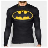 Baselayer Rugby de compression - Batman Under Armour Boutique En Ligne