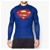 Baselayer Rugby de compression Superman Under Armour Vendre
