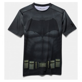 Solde Baselayer Rugby Enfant - Batman Under Armour
