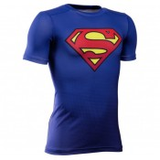 Baselayer Rugby Enfant - Superman - Under Amour Remise Lyon