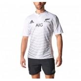 Boutique Maillot Rugby Adulte - All Blacks extérieur 2015/2016 Adidas En Ligne