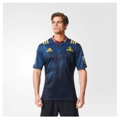 Maillot Rugby Adulte - Highlanders domicile 2016 Adidas Pas Cher Prix