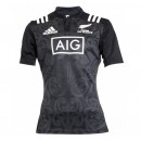 Maillot Rugby Enfant - Maori All Blacks Adidas Soldes Provence