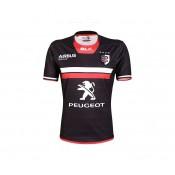Maillot Rugby Enfant Stade Toulousain domicile 2016/2017 Noir Pas Cher