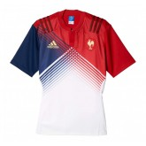 Maillot Rugby Adulte - France extérieur 2016/2017 Adidas Lyon