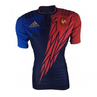 Maillot Rugby - France Rugby à 7 Adidas Rabais en ligne