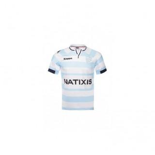 Nouveau Maillot Rugby Racing 92, Enfant domicile 2015-2016, Kappa