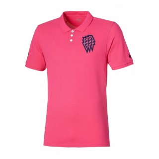 Polo Rugby Adulte  Stade Français Asics Remise Lyon