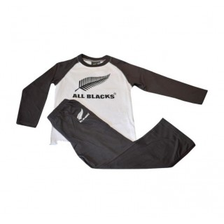 Pyjama Rugby Enfant All Blacks France Pas Cher