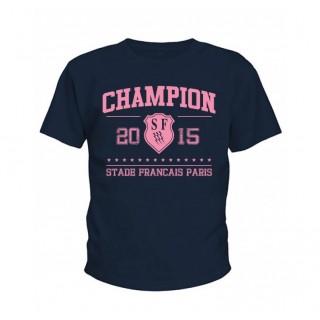 Tee-shirt Enfant  Stade Français Champion de France 2015 Holiprom Promotions