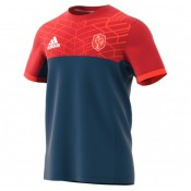 Achat Tee-shirt Rugby Adulte - France performance Adidas