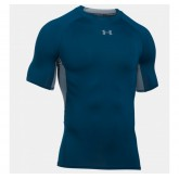 Tee-shirt Rugby de compression - UA HeatGear marine Under Armour Pas Chère