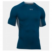 Tee-shirt Rugby de compression - UA HeatGear marine Under Armour Pas Chère
