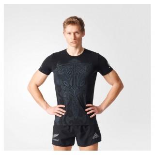 Magasin Tee-shirt Rugby Enfant - Maori All Blacks Adidas Paris