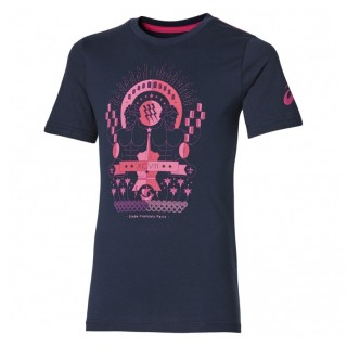 Tee-shirt Rugby - Graphic Stade Français Asics Remise prix