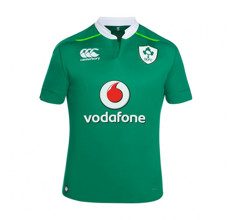 Maillot rugby adulte - Irlande réplica domicile 2016-2017 - Canterbury